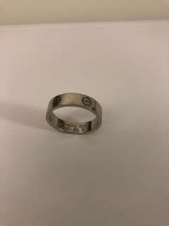 Cartier Love ring Men Platinum size 62