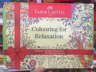 Faber castell colouring for relaxion