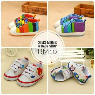 Kids Baby Shoes Soft Sole Toddler
