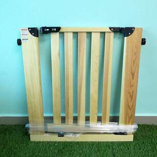 Wooden baby gate from Japan