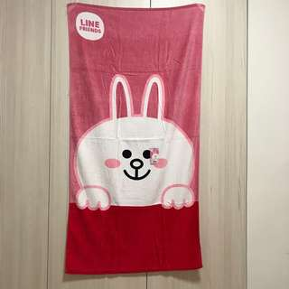 原廠Line 熊熊 & 兔兔大毛巾