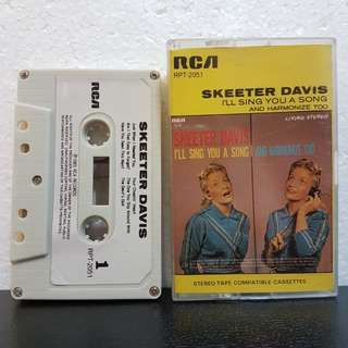 Cassette》Skeeter Davis- I'll Sing You A Song