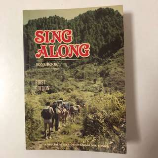 1991 Sing Along Songbook (with guitar chords)