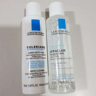 2 for $7 Bn la roche posay cleanser and micellar water