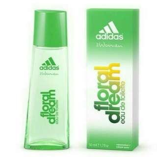 Adidas Floreal Dream 愛迪達綠野仙蹤運動女性淡香水/1瓶/50ml-公司正貨