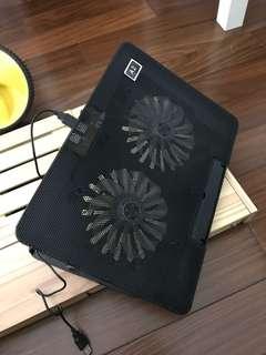 12-16吋筆電散熱風扇墊(送滑鼠墊一塊)