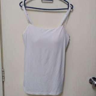 Light cream spegathi strip with padded bra