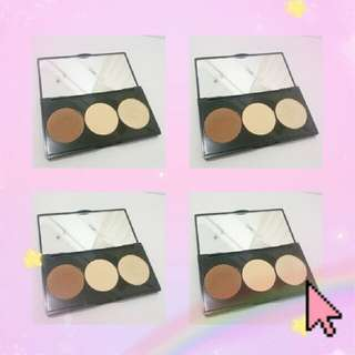 Mizzu Alter Ego Contour & Highlight Kit Banana Palette