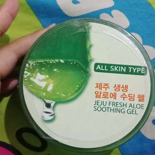 Jeju fresh aloe soothing gel ( aloe vera )