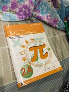 Math Workbook (with solutions) for Form 2