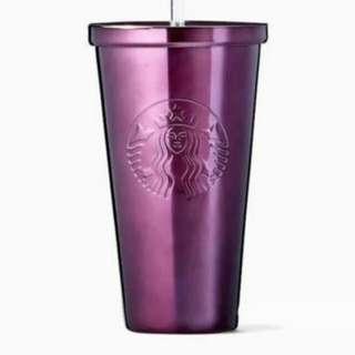 Starbucks tumbler purple