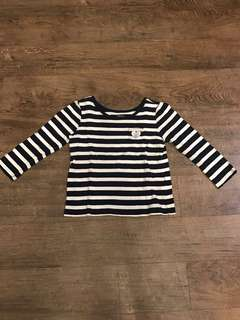 Children's Place Striped Top (12-18 months)