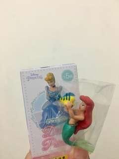 全新 迪士尼 公主系列 公主杯緣子 小美人魚杯緣子 美人魚杯緣子 比目魚 盒玩 🧜♀️