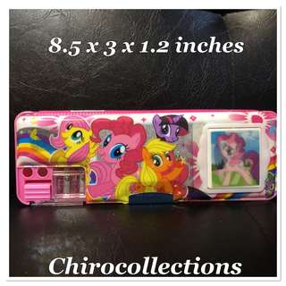 My Little Pony Pencil Case with Calculator