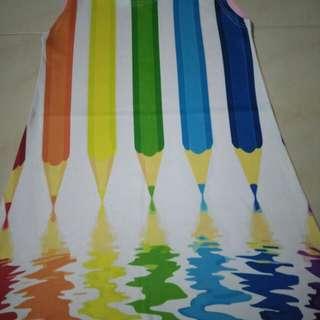 colour pencil dress