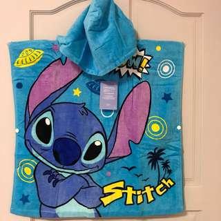 原廠迪士尼史蒂奇大毛巾