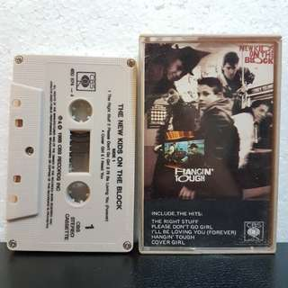 Cassette》The New Kids On The Block - Hangin' Tough