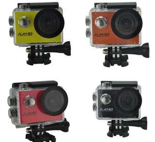 Sports camera waterproof