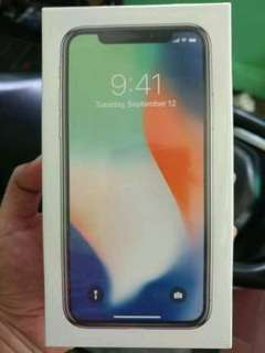 Iphone X 256GB New spacegray ibox indonesia