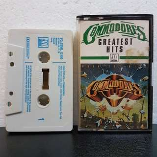 Cassette》Commodores Greatest Hits