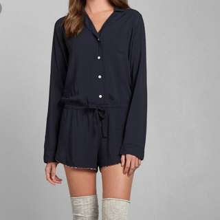Abercrombie and fitch sleeping romper
