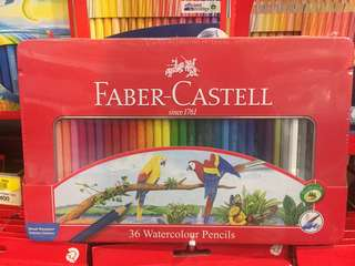 36 watercolour pencil Faber Castell