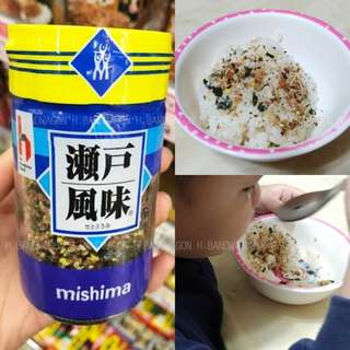 【H.BANDWAGON】日本 三島瀨戶風味鰹魚海苔雞蛋拌飯調味料 芝麻海苔 連線 代購❤️2瓶更優惠