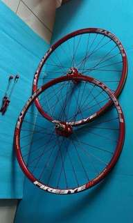 Wheelset fire eye