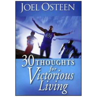 [eBook] 30 Thoughts For Victorious Living - Joel Osteen
