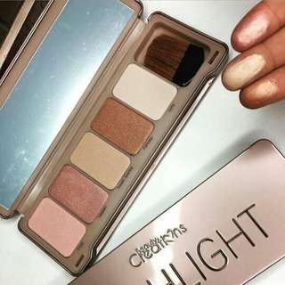 Beauty creations ( highlight, blush, bronzer)