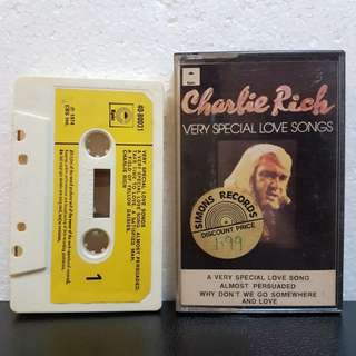 Cassette》Charlie Rich - Very Special Love Songs
