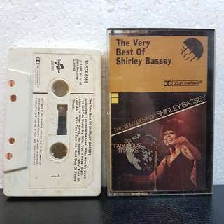 Cassette》Shirley Bassey - The Very Best Of Shirley Bassey