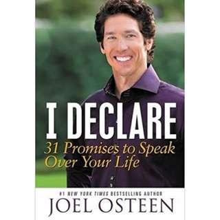 [eBook] I Declare - Joel Osteen
