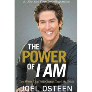 [eBook] The Power of I Am - Joel Osteen