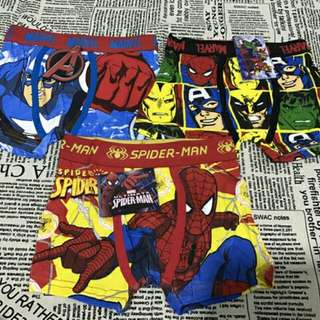 6 pcs. Character Boxer Underwear for kids