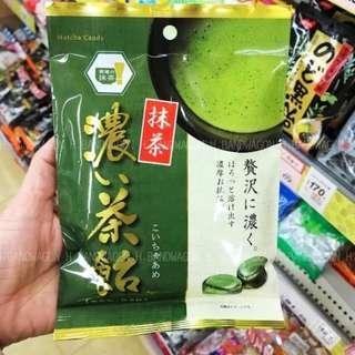 【H.BANDWAGON】日本 日進濃厚抹茶夾心抹茶糖 100g 連線 代購❤️5包更優惠