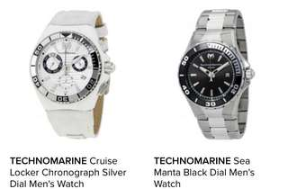 For Pre-order Technomarine Watches