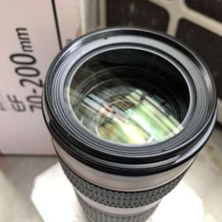 canon lens fullbox 70-200mm USM