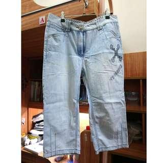 🚚 彈性牛仔短褲