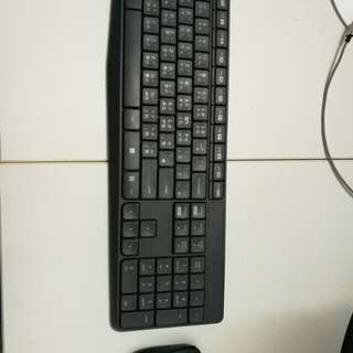 Logitech Bluetooth mouse Keyboard 無線 鍵盤 滑鼠