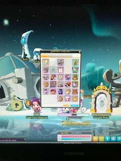 MapleSEA Lvl 207 Xenon Account (Aquila)