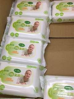 棉花園 手口專用柔濕巾(25抽*4)