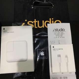 Fast Charging Apple 29W USB C Power Adapter