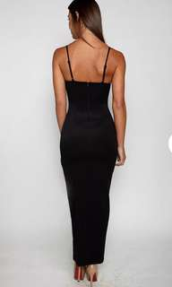 Black MAXI ball dress! Size 10