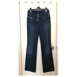 Dolce & Gabbana  Ladies Jeans  女裝 低腰 小闊腳 牛仔褲  @Size 40 *Made in Italy _