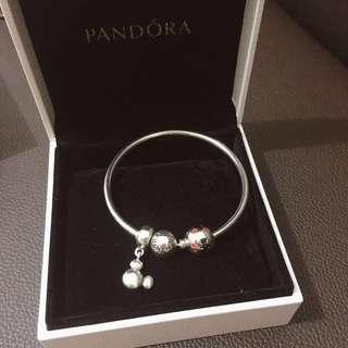 Pandora 手鏈 (米奇系列)