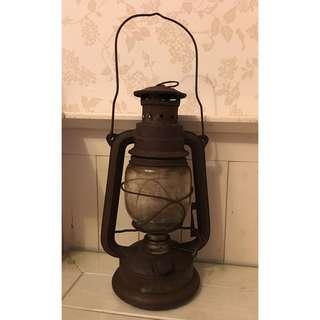 清末民初 老煤油燈