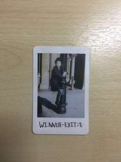 WINNER Mino Official Limited Edition Photocard