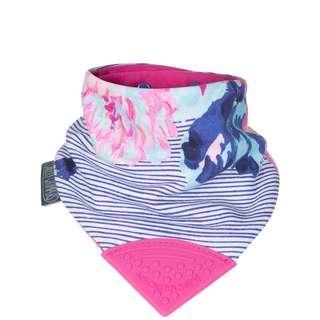 Cheeky Chompers Neckerchew-Joules Floral Stripe