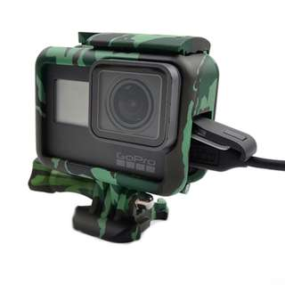 GoPro Frame Casing Green Camo for Hero 5/6 Black